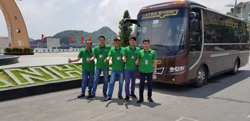 Xe buýt từ Ninh Bình đi Cát Bà