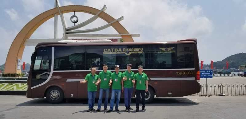 Xe buýt từ Cát Bà đến Ninh Bình