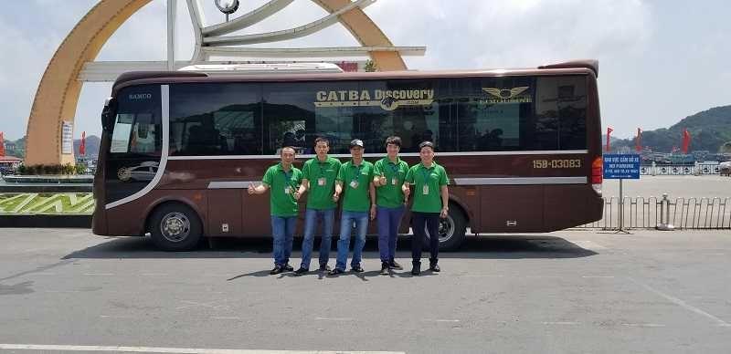 Xe buýt từ Ninh Bình đến đảo Cát Bà