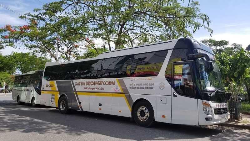 Xe buýt Hà Nội đến đảo Cát Bà